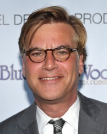 screenwriter Aaron Sorkin