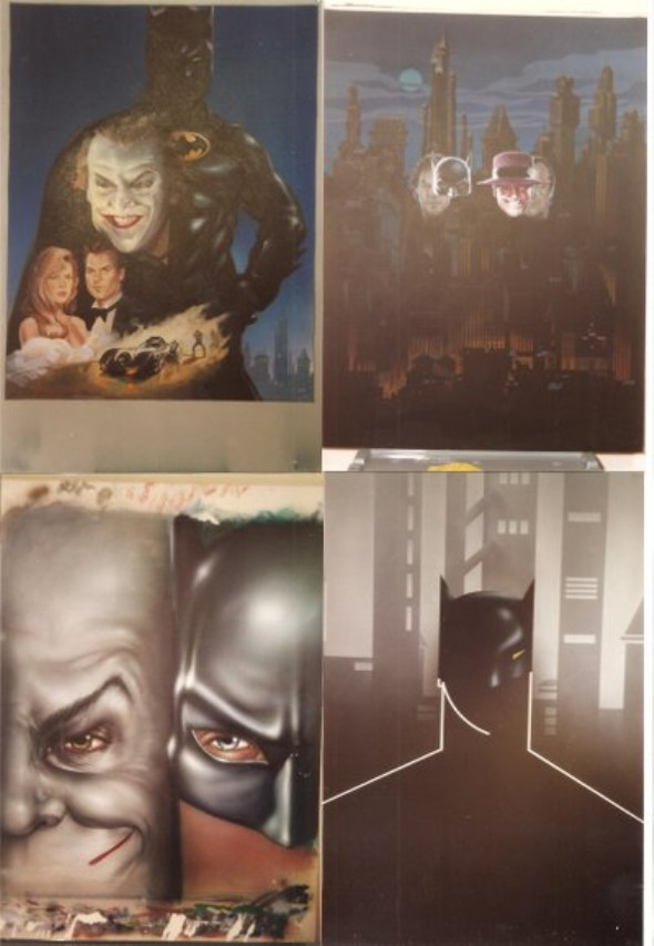 Batman poster concept art