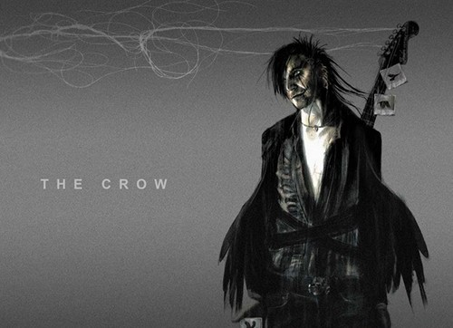 Crow What Couldve Been: The Crow Remake Concept Art Shows Us a Gothy Blend of Punk ish and Heroin Chic