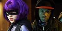 Hit Girl and Moses