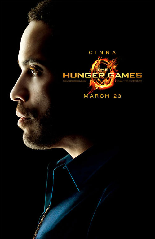 Hunger Games Cinna Character Poster