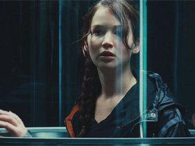 Katniss in The Hunger Games Trailer
