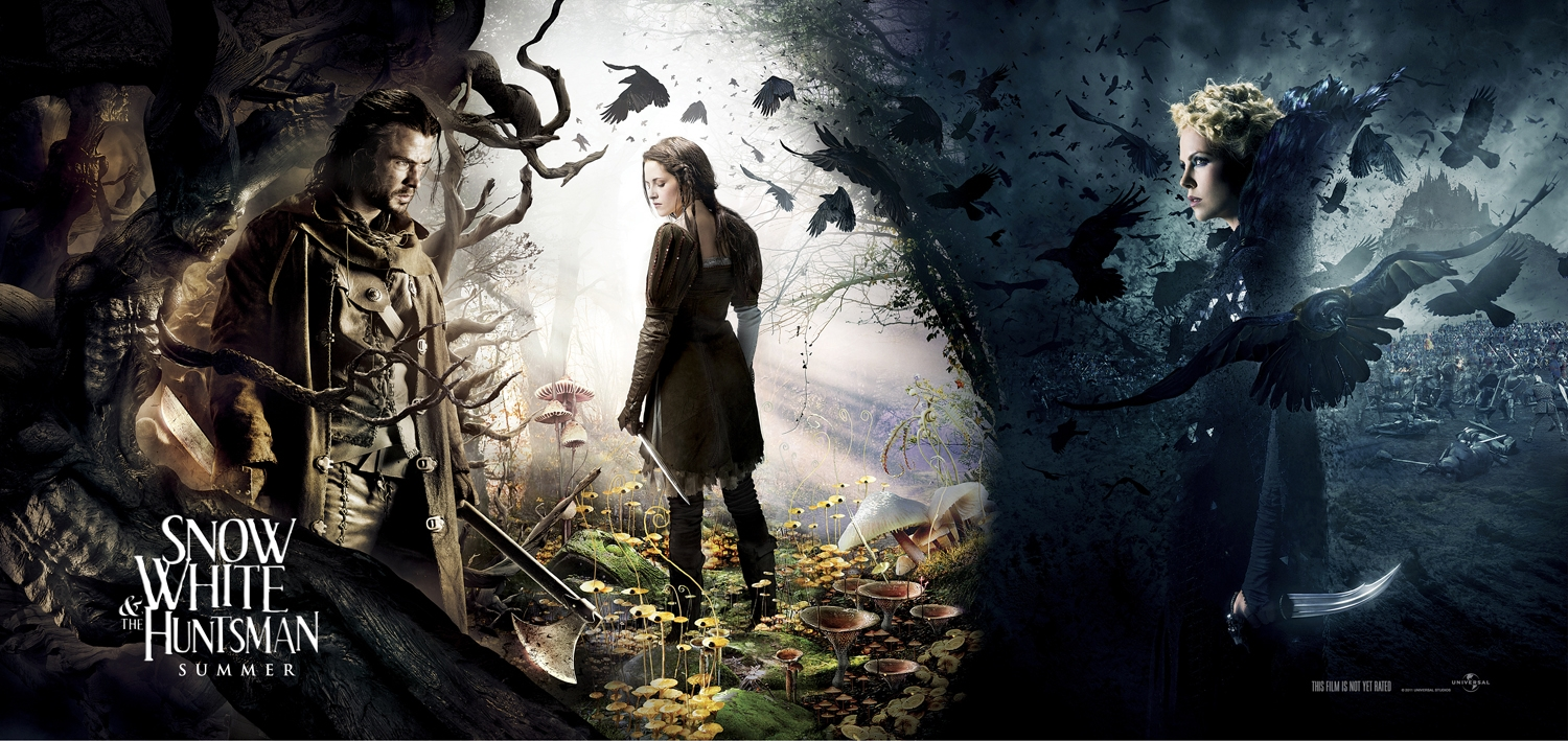 Look Snow White And The Huntsman Banner New Hunger Games Katniss Image Movie News Movies Com