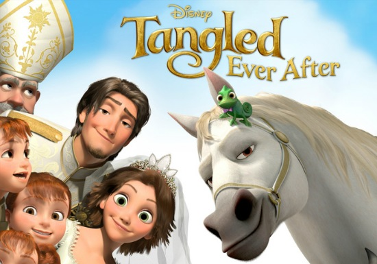 Tangled Ever After header Disney/Pixar News: New Images from Pixars Brave; Tangled Short to Play Before Beauty and the Beast 3D