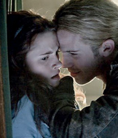 Bella and James in Twilight