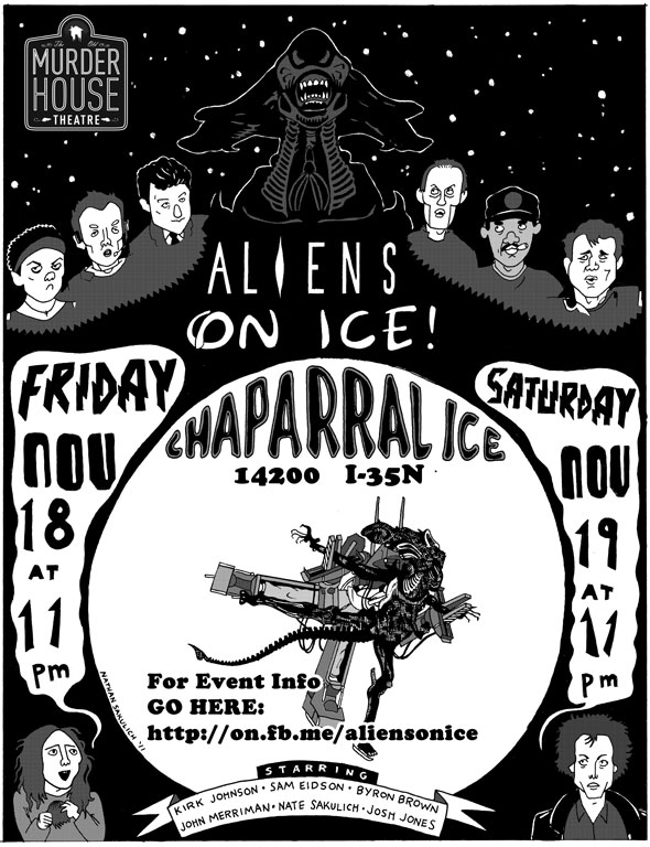 alien on ice