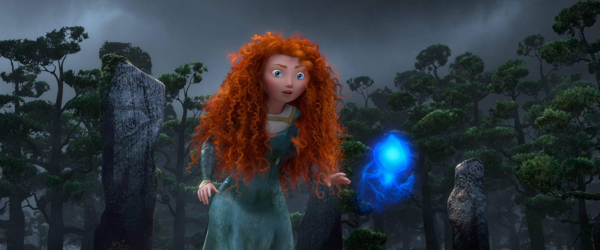 brave new hr 2 Disney/Pixar News: New Images from Pixars Brave; Tangled Short to Play Before Beauty and the Beast 3D