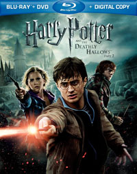 Deathly Hallows pt 2 Blu-ray