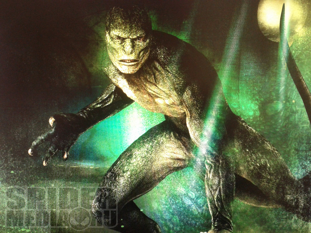 lizard3 Cool Concept Image of The Lizard from The Amazing Spider Man