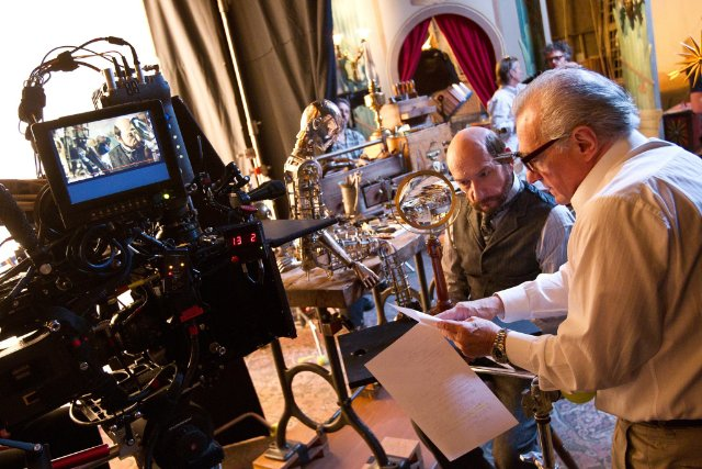 Scorsese on Hugo