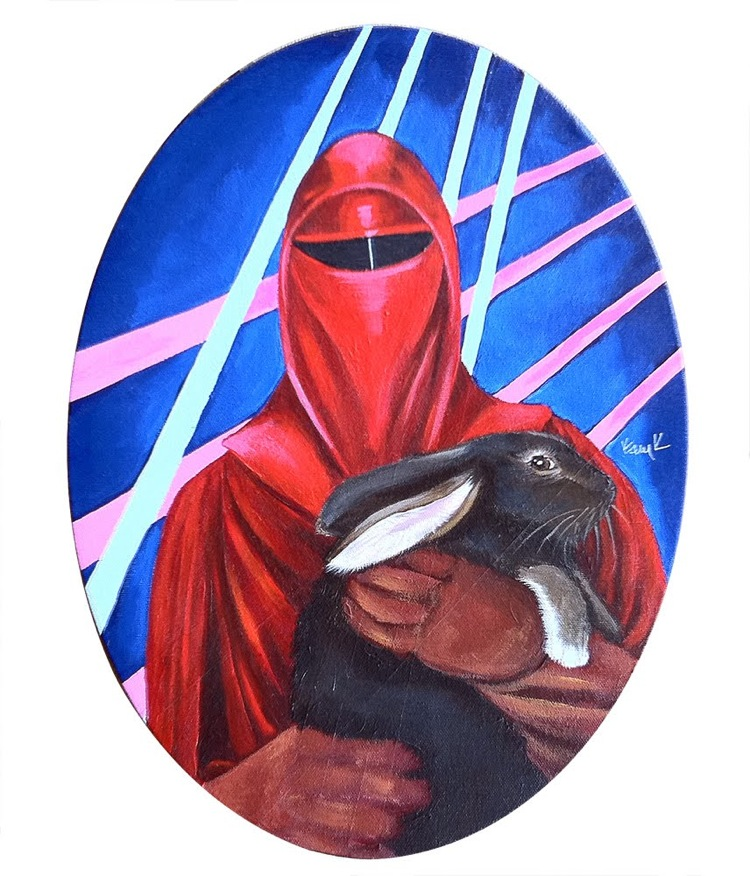 star wars bunny love crimson guard Image(s) of the Day: Star Wars Bad Guys Holding Bunnies