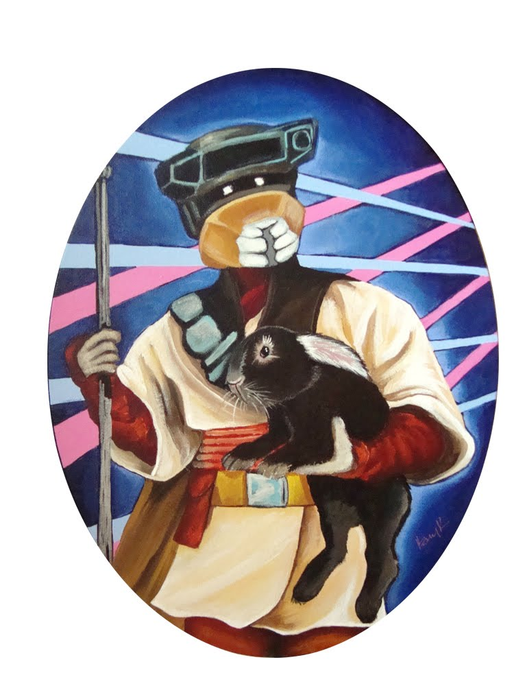 star wars pet love boush guard Image(s) of the Day: Star Wars Bad Guys Holding Bunnies