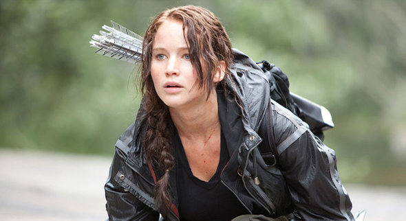 Katniss in Hunger Games