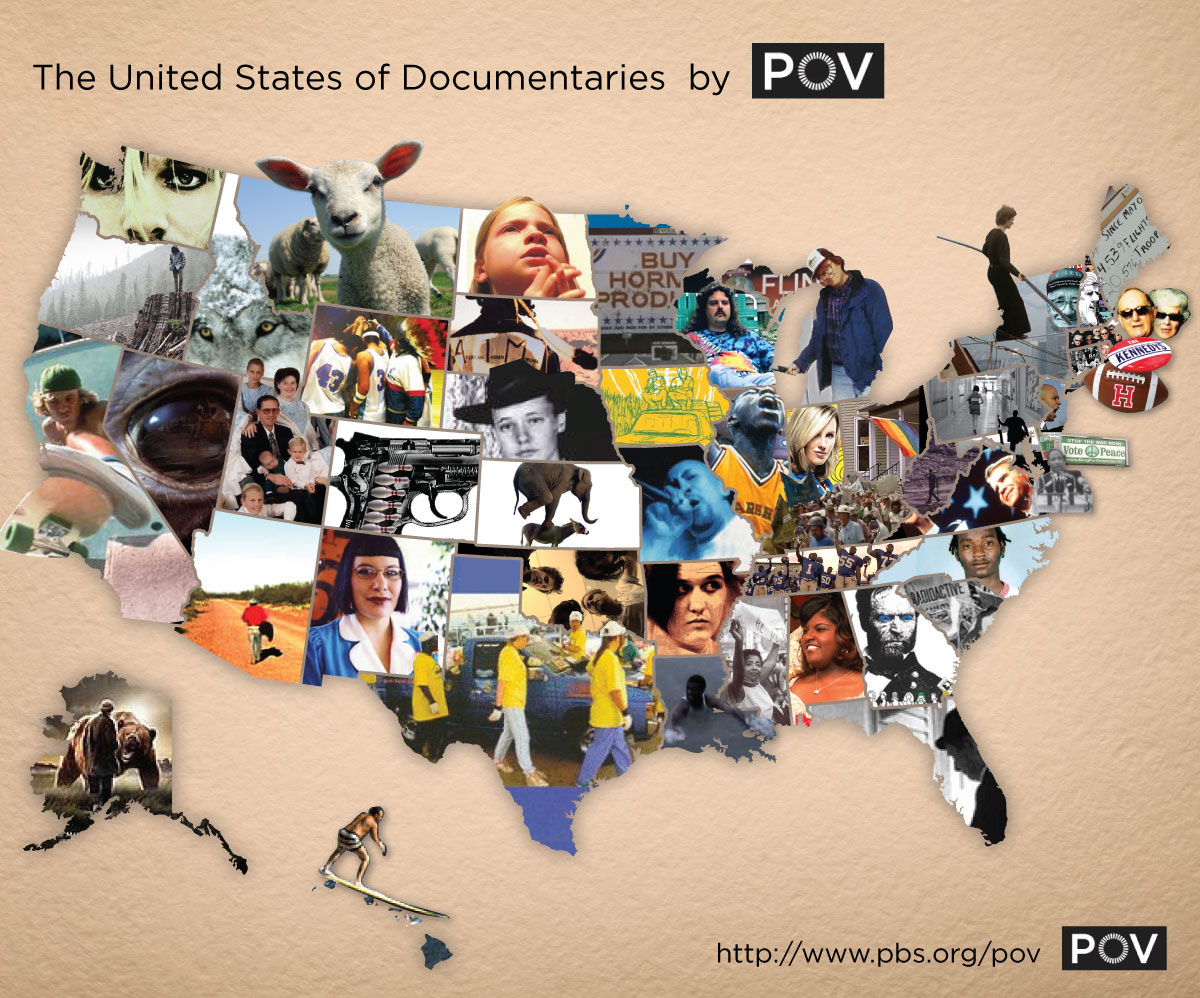 Us Map Photo Collage.Image Of The Day The United States Of Documentaries Movie News