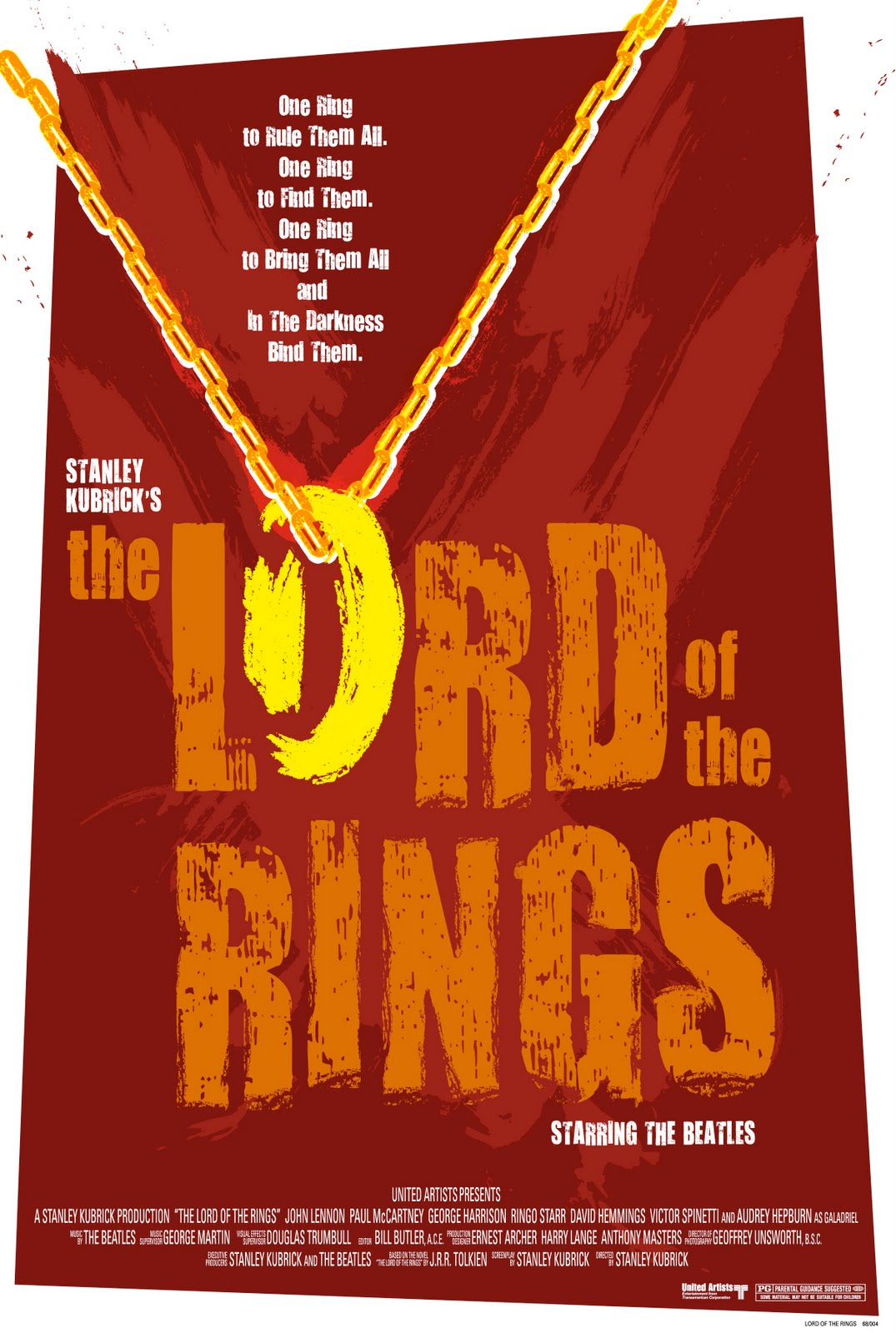 Beatles Kubrick Lord Of The Rings