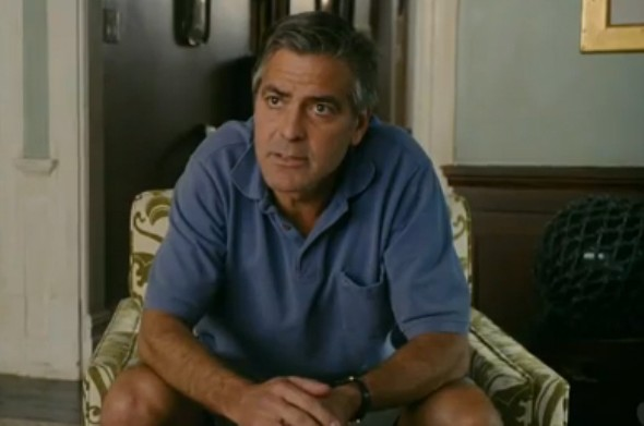 George Clooney in The Descendants