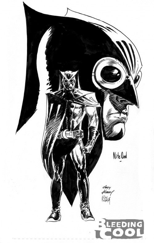 Nite Owl drawing