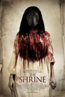 poster for Jon Knautz's The Shrine