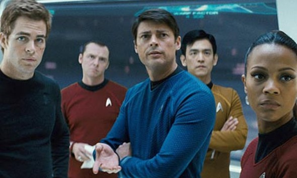 The Star Trek reboot crew