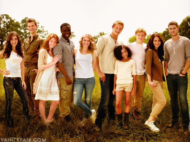 Hunger Games Cast in Vanity Fair