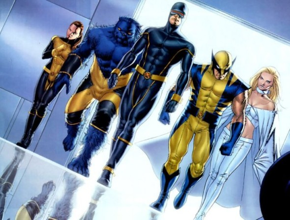 X-Men comic art