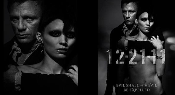 Dragon Tattoo Teaser Posters