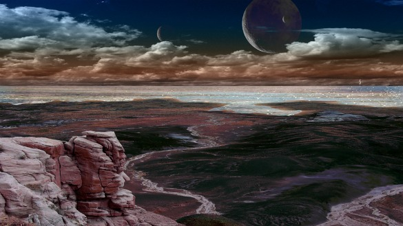 earth2thumb Another Earth in Real Life: Concept Art from Most Earthlike Planet Ever Discovered