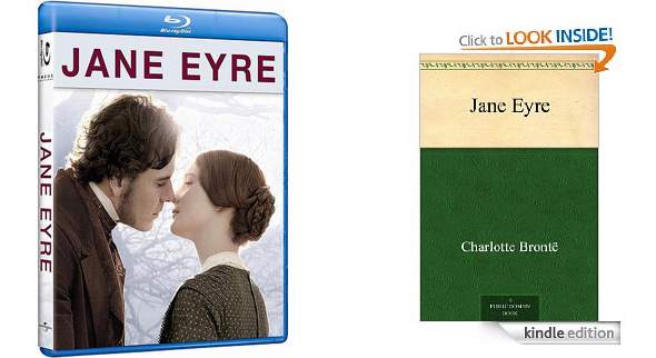 Jane Eyre covers