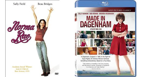 Norma Rae/Dagenham covers