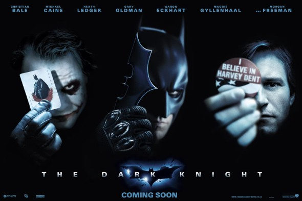 The Dark Knight teaser quad poster
