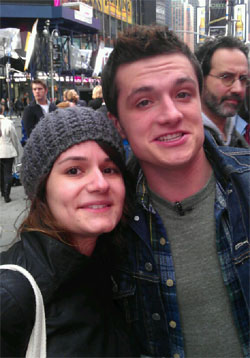 Michelle and Josh Hutcherson