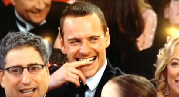 fassbender%20golden%20globes The Conversation: What Did You Think of the 2012 Golden Globe Awards?
