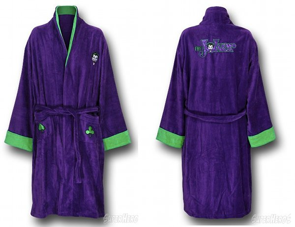 joker robe Freaky Friday Finds: Gary Busey Car Commercials, David Lynch, Star Trek, Batman, Star Wars and More
