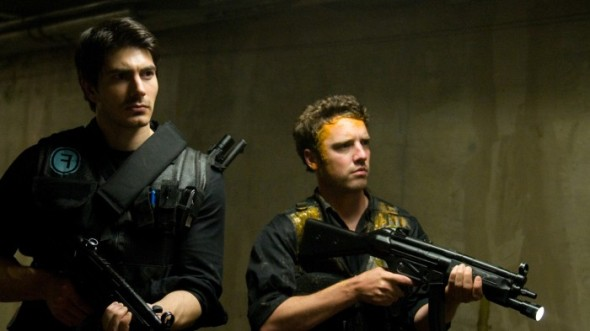 Brandon Routh and Bret Harrison in Cost of Living