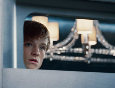 Peeta on the Train
