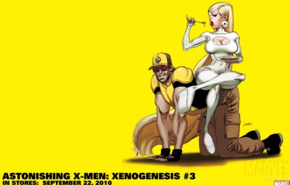 Kaare Andrews Wallpaper for Marvel Comics