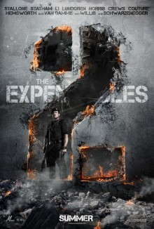 Expendables 2 poster
