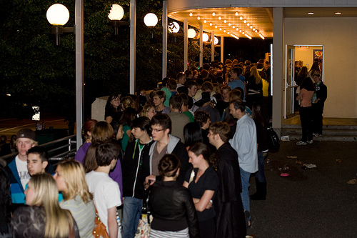 Harry Potter Midnight Screening Line