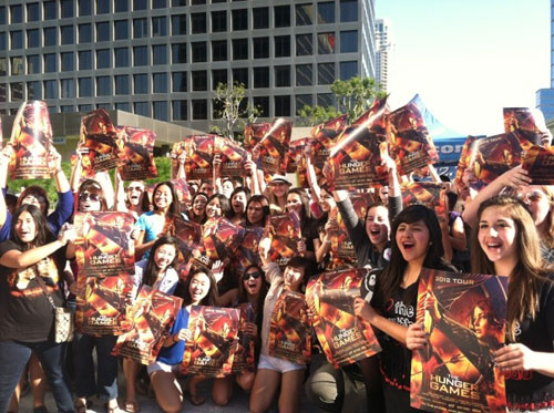 Hunger Games Mall Tour