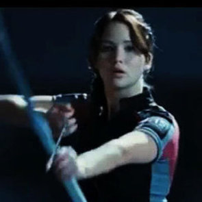 Katniss in The Hunger Games