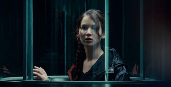 Katniss Going Into the Hunger Games