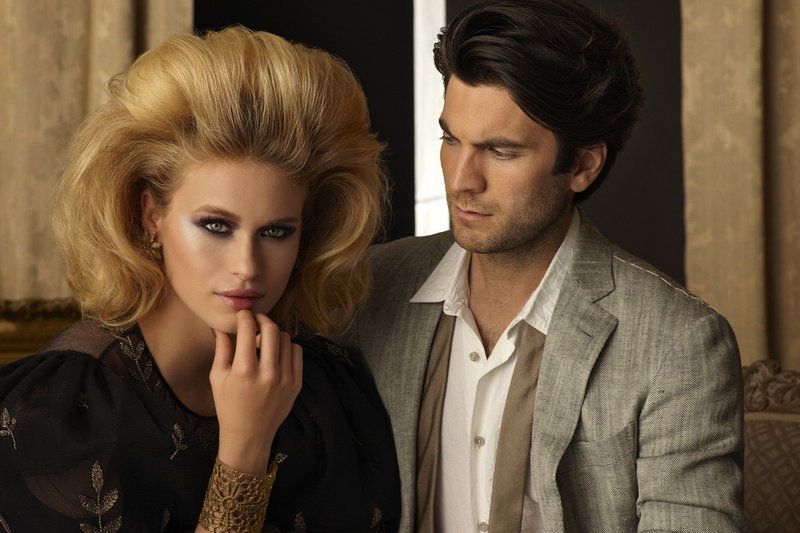 Leven Rambin and Wes Bentley