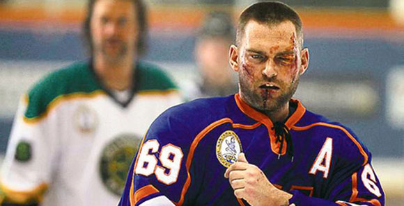 goon still The Honor in Violence: Goon and Hockey Fighting