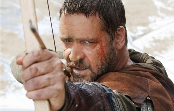 mdc robin hood Movie News in 60 Seconds: Russell Crowe Will Float Aronofsky's Ark; Harry Potter Bully Going to Jail; Director Ulu Grosbard, 83, Dies