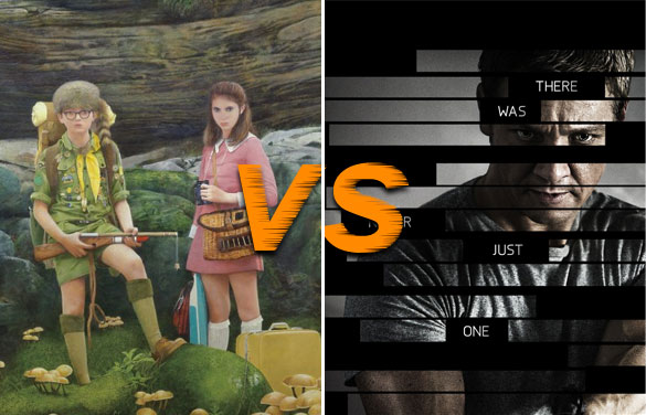 moonrise vs bourne March Movie Madness Tournament Which Summer Movie will Rule Them All (Region 1  Round Two)
