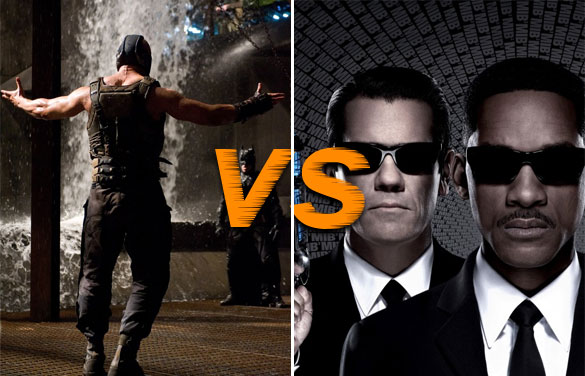 tdkr v mib3 March Movie Madness Tournament Which Summer Movie will Rule Them All (Region 1  Round Two)