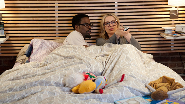 Chris Rock and Julie Delpy in 2 Days in New York (Courtesy of Magnolia Pictures)