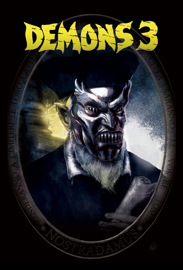 Demons 3 comic cover