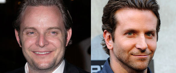 Francis Lawrence and Bradley Cooper