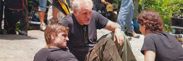 Gary Ross Directing Peeta and Katniss